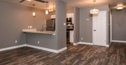Living/Kitchen at Listing #140262