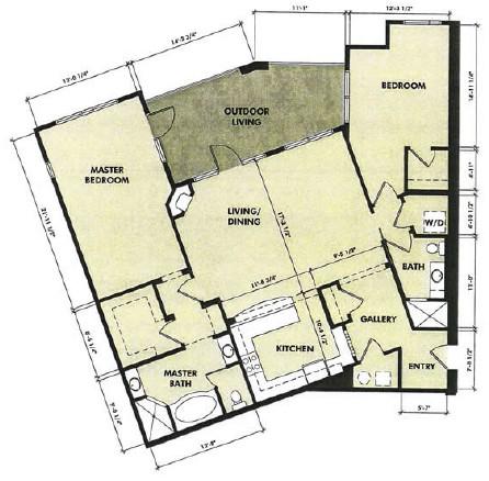 1,589 sq. ft. San Saba floor plan