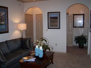 Model Living Area at Listing #144682