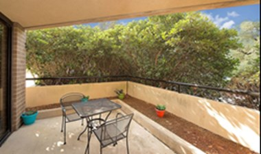 Patio at Listing #141347