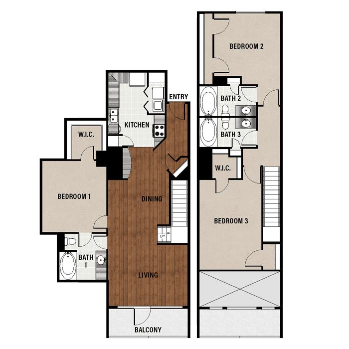 1,689 sq. ft. C6A floor plan