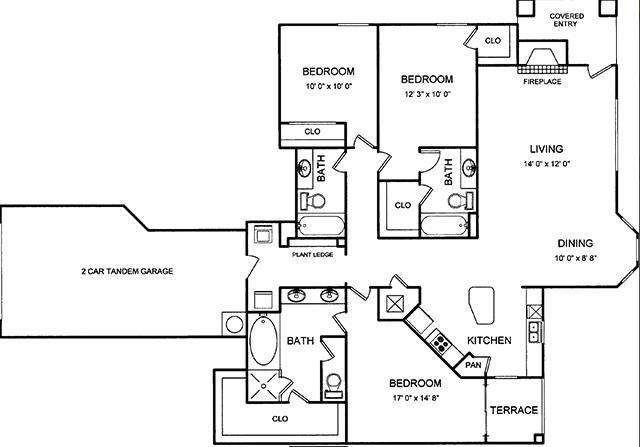1,563 sq. ft. floor plan