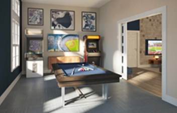 Gameroom at Listing #313698