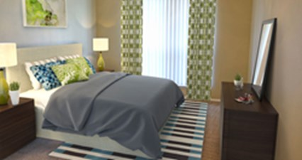 Bedroom at Listing #140031