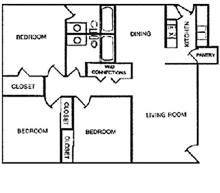 1,235 sq. ft. C2 floor plan