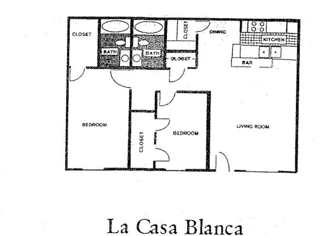 1,040 sq. ft. 60% floor plan