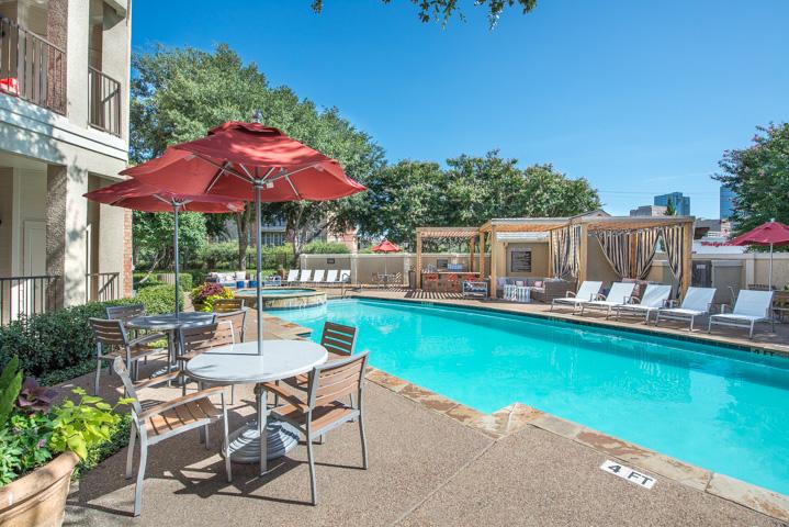 Pool at Listing #137829