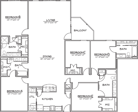 2,495 sq. ft. floor plan