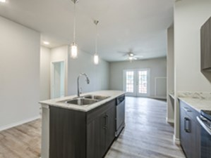 Living/Kitchen at Listing #300136