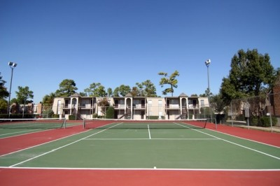 Tennis court at Listing #139058