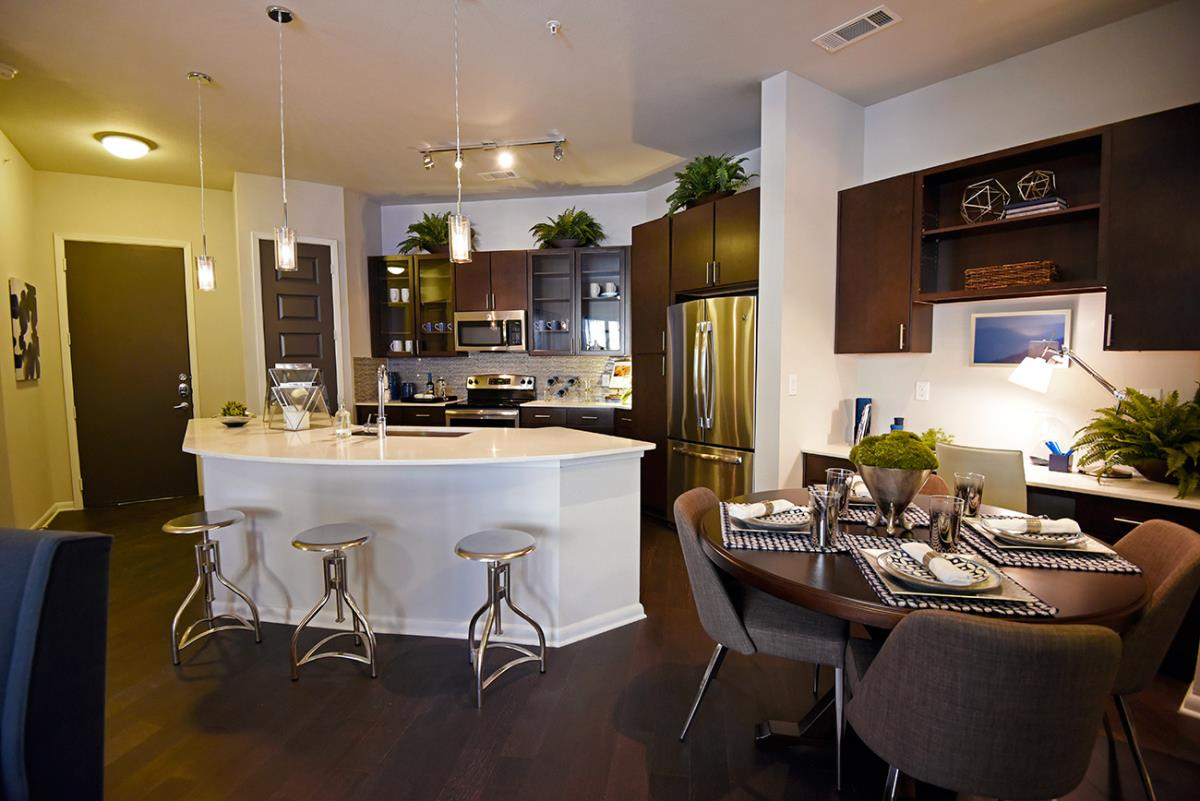 Dining/Kitchen at Listing #243458