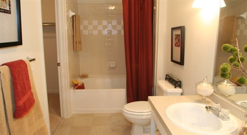 Bathroom at Listing #138027