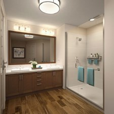 Bathroom at Listing #292750