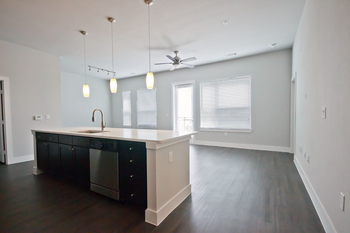 Living/Kitchen at Listing #252380