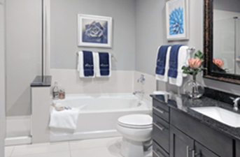 Bathroom at Listing #236604