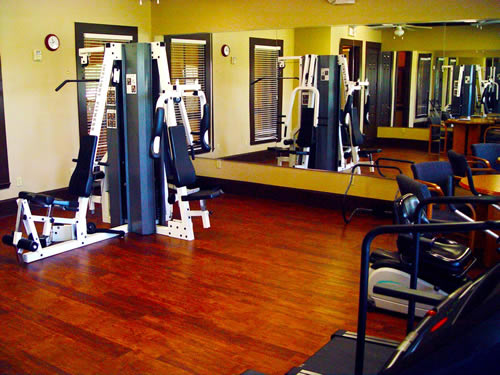 Fitness Center at Listing #144344