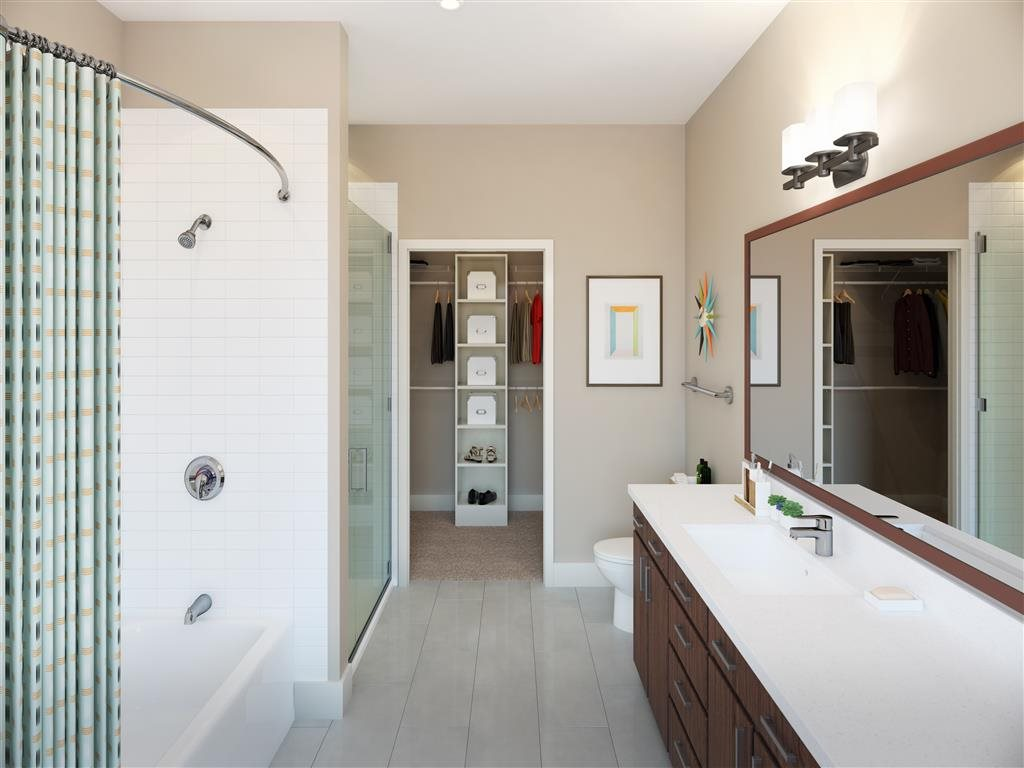 Bathroom at Listing #279818
