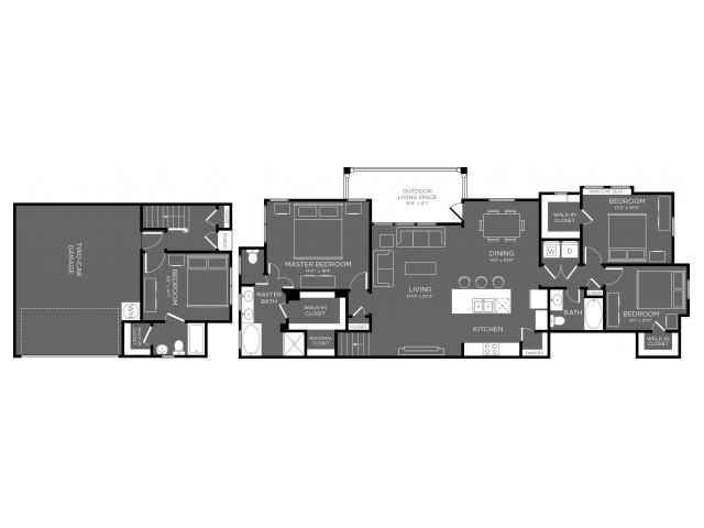 1,917 sq. ft. floor plan