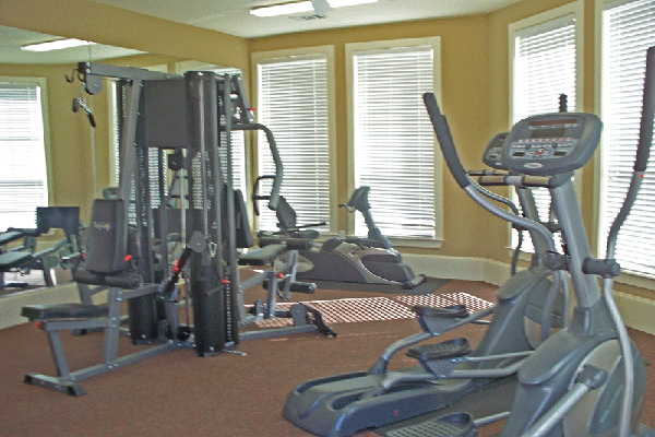 Fitness Center at Listing #144961