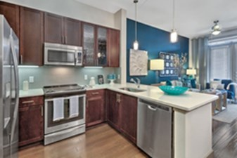 Living/Kitchen at Listing #282691