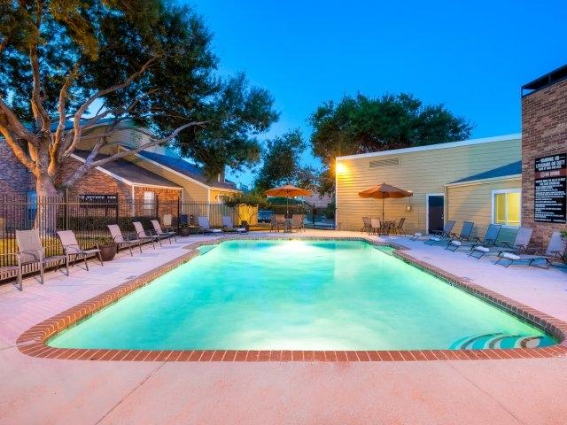 Pool at Listing #136534