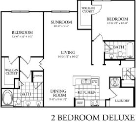 1,193 sq. ft. floor plan