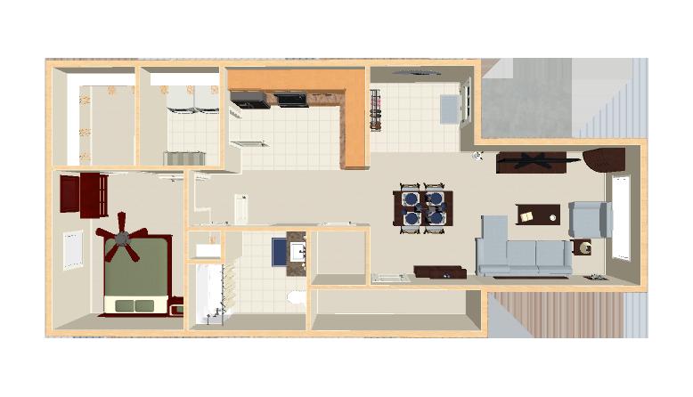 806 sq. ft. 30% floor plan