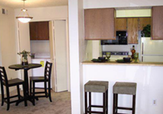 Dining/Kitchen at Listing #135938