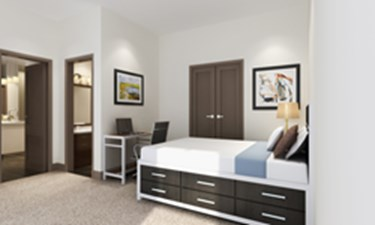 Bedroom at Listing #287197