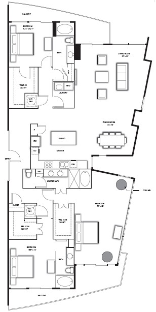 2,554 sq. ft. C1/BH floor plan