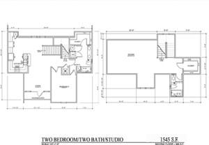 1,545 sq. ft. TH E floor plan