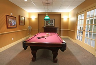 Gameroom at Listing #144394