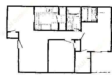 922 sq. ft. Mkt & 60% floor plan