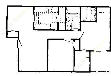 922 sq. ft. 80% floor plan
