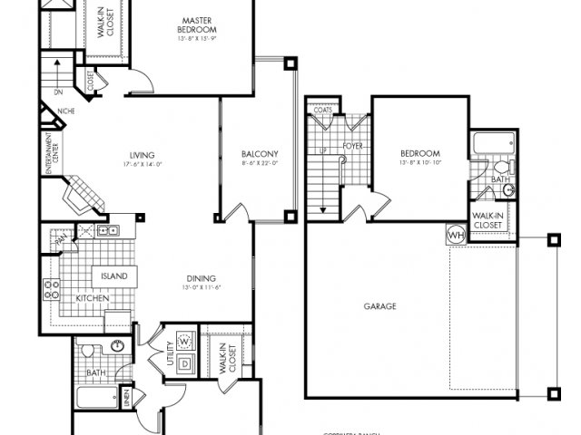 1,954 sq. ft. Cordillera Ranch floor plan