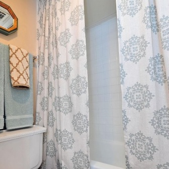 Bathroom at Listing #137144