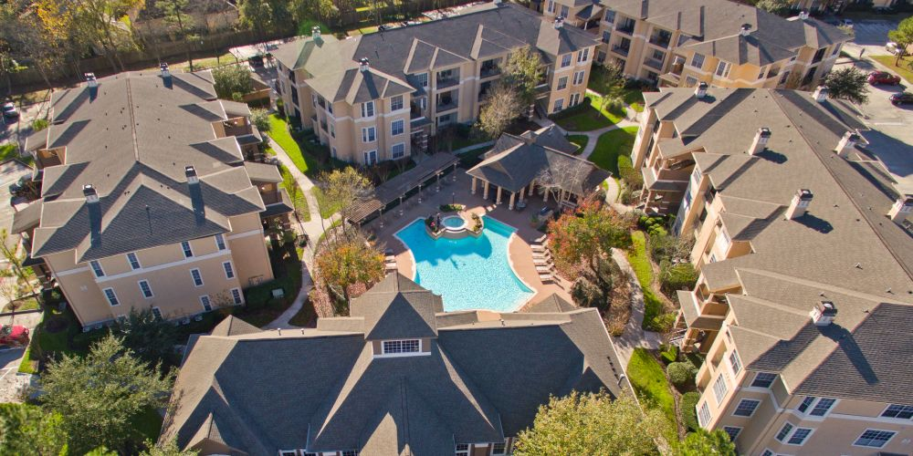 Aerial View at Listing #138553