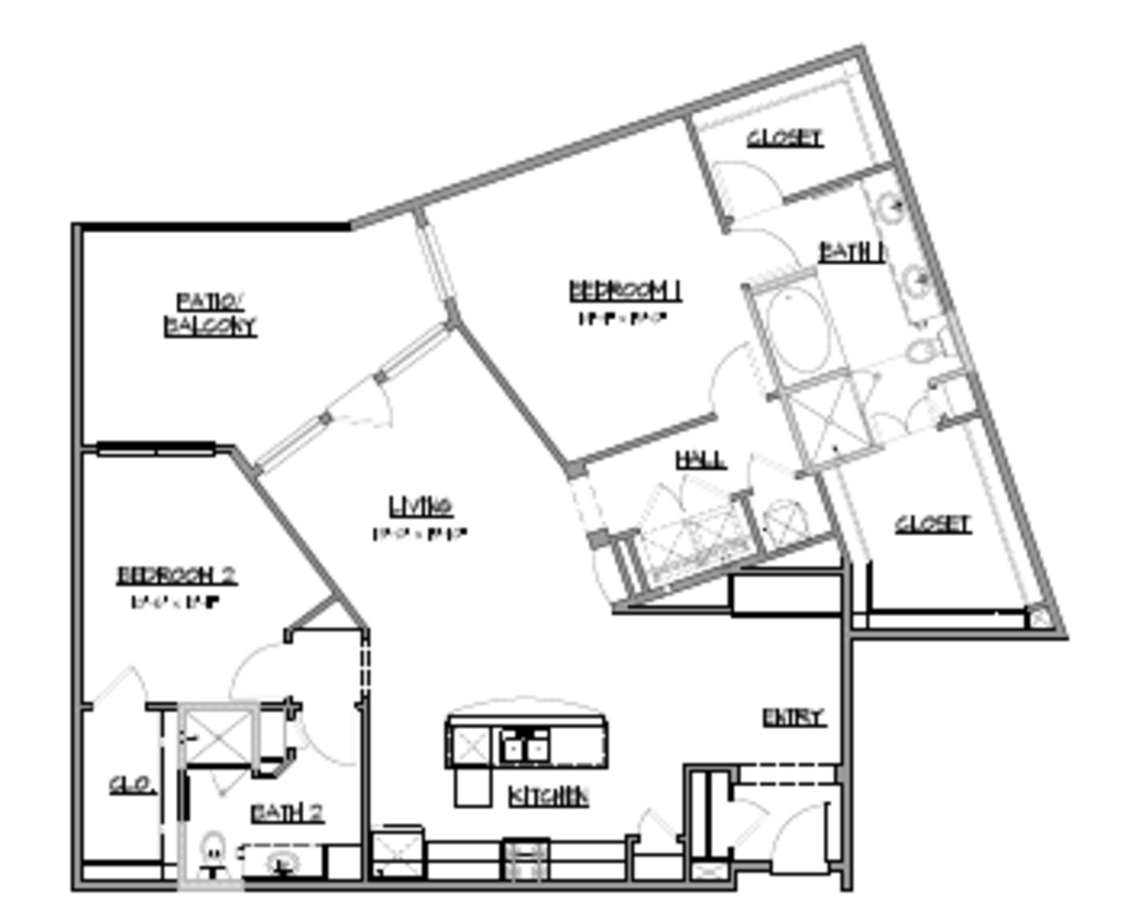 1,478 sq. ft. B5 floor plan