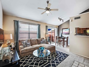 Living/Dinning at Listing #136278