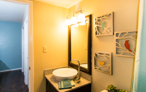 Bathroom at Listing #144424