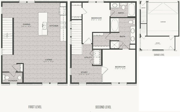 1,585 sq. ft. B4 floor plan