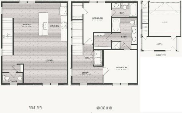1,585 sq. ft. B4 floor plan