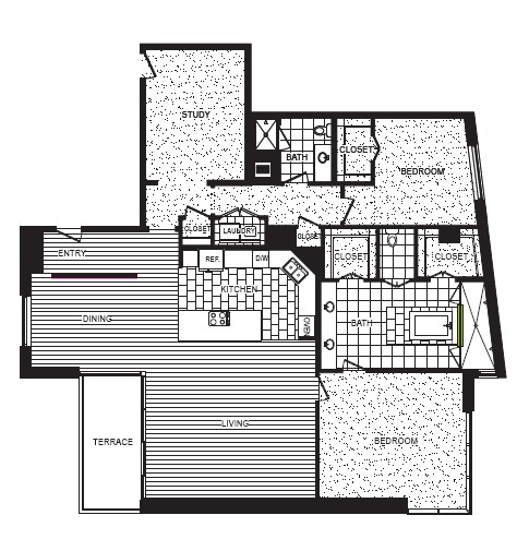 2,401 sq. ft. M floor plan
