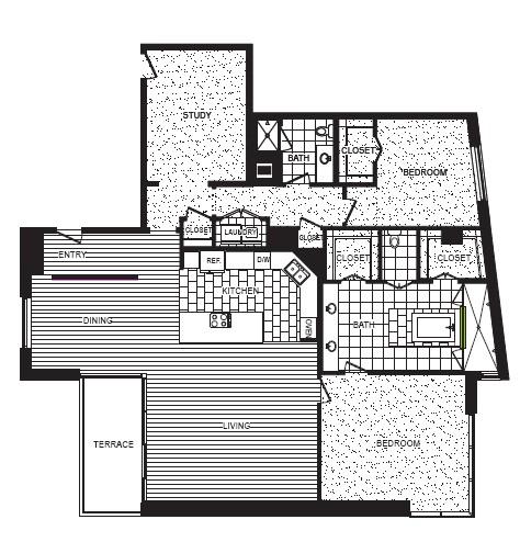 2,401 sq. ft. M floor plan
