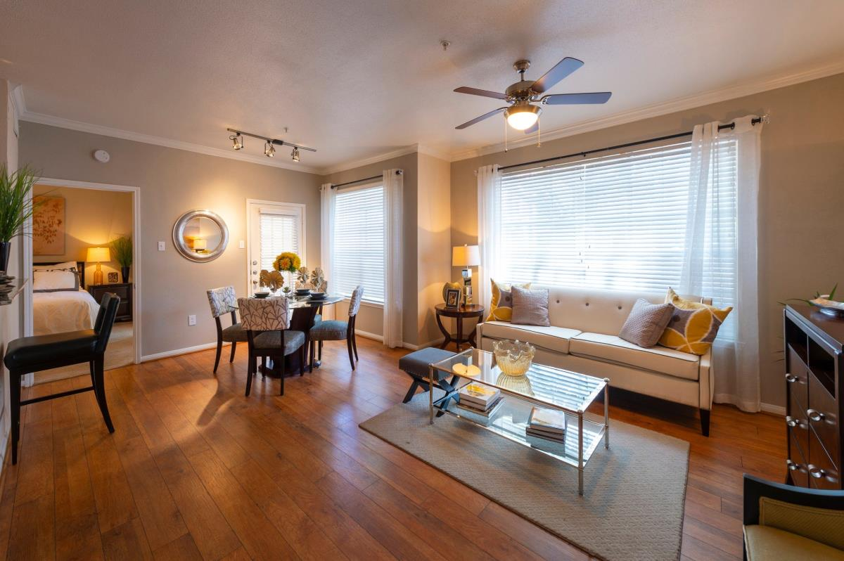 Living/Dining at Listing #138856