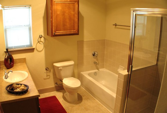 Bathroom at Listing #144675