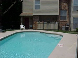 Pool Area at Listing #136177