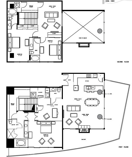 2,861 sq. ft. PH2 floor plan