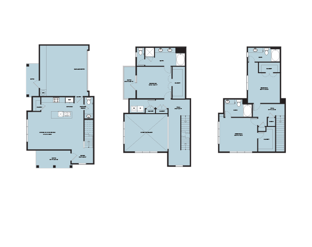 2,174 sq. ft. TH C2 floor plan