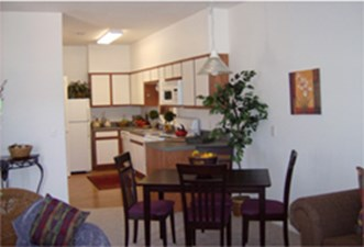 Dining/Kitchen at Listing #144426